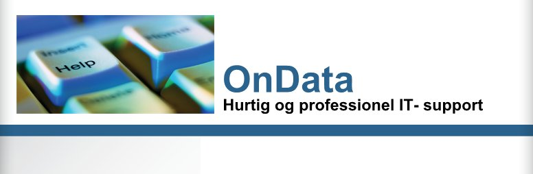 OnData - Hurtig og professionel IT- support